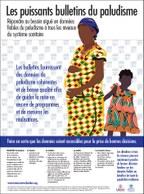 Les puissants bulletins du paludisme