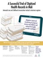 A Successful Trial of Digitized Health Records in Mali