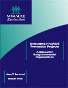 Evaluating HIV/AIDS Prevention Projects: A Manual for Nongovernmental Organizations