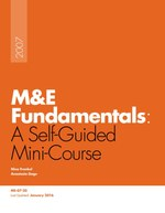 M&E Fundamentals: A Self-Guided Minicourse [Kindle edition]