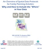 "An Overview of Spatial Data Protocols for Family Planning Activities: Why and How to Include the ""Where"" in Your Data"