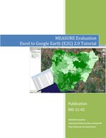 MEASURE Evaluation Excel to Google Earth (E2G) 3.0 Tutorial