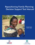 Repositioning Family Planning: Decision Support Tool Manual