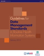 Guidelines for Data Management Standards in Routine Health Information Systems
