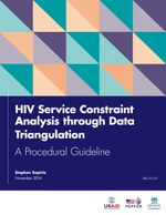 HIV Service Constraint Analysis through Data Triangulation – A Procedural Guideline