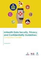 mHealth Data Security, Privacy, and Confidentiality Guidelines: Companion Checklist