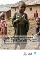 Monitoring, Evaluating, and Reporting PEPFAR's Essential Survey Indicators for Orphans and Vulnerable Children Programs: Enumerator Manual Template