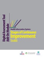 Health Information System Stages of Continuous Improvement Toolkit: Digital Assessment Tool Add-On Module