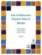 Use of Maternity Register Data in Benin