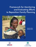 Framework for Monitoring and Evaluating Efforts to Reposition Family Planning