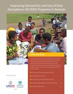Improving Demand for and Use of Data Strengthens HIV/AIDS Programs in Rwanda