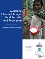 Modeling Climate Change, Food Security, and Population