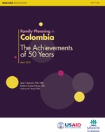 Family Planning in Colombia. The Achievements of 50 Years