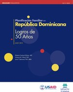 Planificación Familiar en República Dominicana: Logros de 50 Años