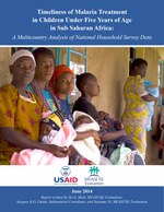 Timeliness of Malaria Treatment in Children Under Five Years of Age in Sub-Saharan Africa: A Multicountry Analysis of National Household Survey Data
