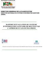 Rapport d'Evaluation du Système d'Information Sanitaire de Routine par l'Approche et les Outils PRISM