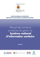 Manuel des normes et procédures de gestion du Système national d'information sanitaire