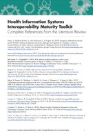 Health Information Systems Interoperability Maturity Toolkit: Complete References from the Literature Review