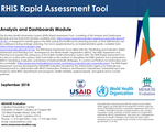 Routine Health Information System Rapid Assessment Tool: Analysis and Dashboards Module