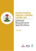 Implementing Nigeria's Master Facility List: Software Requirements Specifications