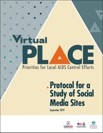 Virtual Priorities for Local AIDS Control Efforts (PLACE): Protocol for a Study of Social Media Sites