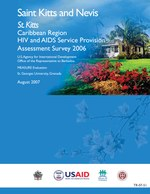 Saint Kitts Caribbean Region HIV and AIDS Service Provision Assessment Survey 2005
