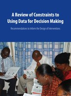 A Review of Constraints to Using Data for Decision Making: Recommendations to Inform the Design of Interventions