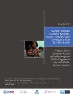 Transforming Gender Norms, Roles, and Power Dynamics for Better Health: Evidence from a Systematic Review of Gender-integrated Health Programs in Low-and Middle-Income Countries