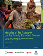 Handbook for Research on the Family Planning Market Volume 2: Tool and Resources for an In-depth Analysis of the Family Planning Market
