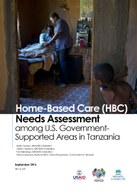 Home-Based Care (HBC) Needs Assessment among U.S. Government-Supported Areas in Tanzania