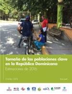 Tamaño de las poblaciones clave en la República Dominicana