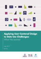 Applying User-Centered Design to Data Use Challenges: What We Learned