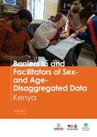 Barriers to and Facilitators of Sex- and Age-Disaggregated Data – Kenya