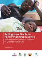 Setting New Goals for Family Planning in Kenya – Building on Decades of Progress in Contraceptive Use