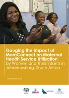 Gauging the Impact of MomConnect on Maternal Health Service Utilisation by Women and Their Infants in Johannesburg, South Africa