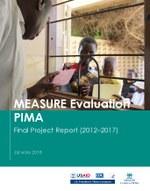 MEASURE Evaluation PIMA – Final Project Report (2012–2017)