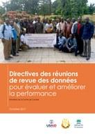Directives des réunions de revue des données: pour évaluer et améliorer  la performance