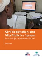 Civil Registration and Vital Statistics System – End-of-Project Assessment Report
