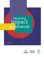 Measuring Impact Qualitatively