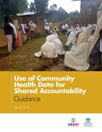 Use of Community Health Data for Shared Accountability: Guidance