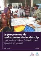 Le programme de renforcement du leadership pour la demande et l'utilisation des données en Guinée