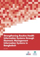 Strengthening Routine Health Information Systems through Electronic Management Systems in Bangladesh