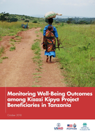 Monitoring Well-Being Outcomes among Kizazi Kipya Project Beneficiaries in Tanzania