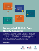 Country-Led, Holistic Data Quality Assurance: Institutionalizing Data Quality through a National Technical Working Group and the Data Quality Review