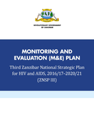 Zanzibar National HIV and AIDS Monitoring and Evaluation Plan: 2016/17–2020/2