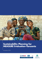 Sustainability Planning for MEASURE Evaluation–Tanzania