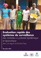 Evaluation rapide des systèmes de surveillance des maladies à potentiel épidémique et épizootique dans une région du Burkina Faso