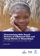 Characterizing Male Sexual Partners of Adolescent Girls and Young Women in Mozambique: An Intervention to Promote Data Use