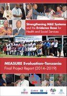 MEASURE Evaluation–Tanzania Final Project Report (2014–2019)