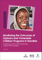 Monitoring the Outcomes of Orphans and Vulnerable Children Programs in Namibia: Findings from 2016–2018 Panel Data, Project HOPE Namibia